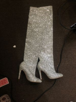 Thigh boot size 7.5 for Sale in Baltimore, MD