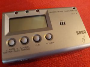 Korg - handheld Guitar Bass Tuner quality for Sale in Folsom, CA