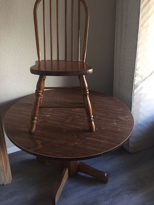 Table with four chairs for Sale in San Diego, CA