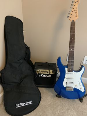 Yamaha Pacifica Guitar + Amp for Sale in Wildwood, MO