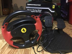Ferrari steering wheel for pc and ps3 for Sale in Hopedale, MA