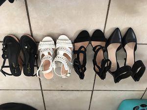 High heels, sandals, reebok shoes for Sale in San Diego, CA