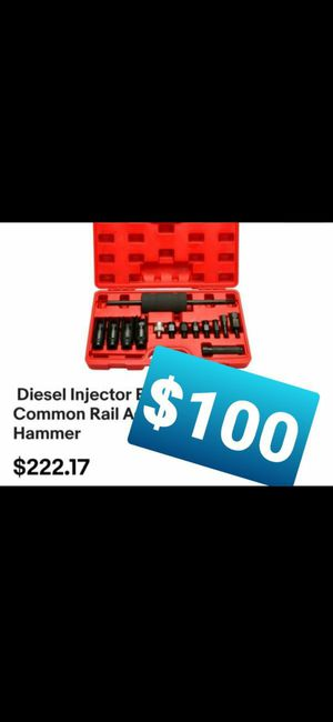 Diesel Injector Extractor Remove & Common Rail Adaptor Puller Slide Hammer /Martillo for Sale in Montclair, CA