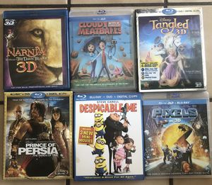 Kid / Children 3D Blu Ray Movie Disc for Sale in Pawtucket, RI