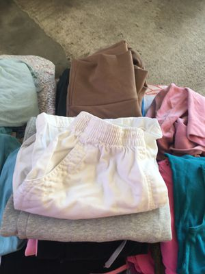 Bag of women's clothes $50 for everything or $2 each blouse , sweater,shorts,pants for Sale in Los Angeles, CA