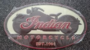 NEW Indian Motorcycle Sign for Sale in Egg Harbor Township, NJ