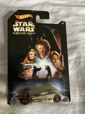 2014 Hot Wheels Disney Star Wars #3 Duel Fueler Revenge of the Sith - NEW for Sale in Florissant, MO