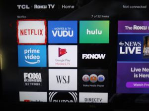 Tcl 32 roku smart tv for Sale in Festus, MO