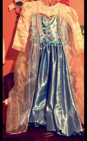Frozen Elsa dress costume for Sale in Weslaco, TX