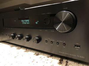 Onkyo TX-8050 Receiver, 2x80 watts, Apple/Android digital integration via USB port or phone app. for Sale in Chicago, IL
