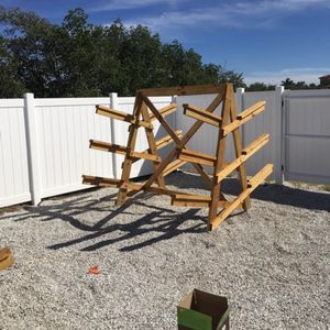 Custom Built Kayak Rack! $375 for Sale in Seminole, FL