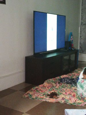 Samsung 55inch tv with tv stand for Sale in Honolulu, HI