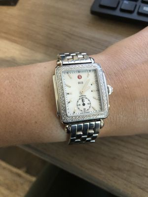Michele Deco Mid Diamond Watch for Sale in Columbus, OH