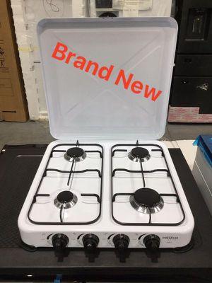 Portable Gas Stove Kitchen Appliances Countertop Cocina Estufa Fogon 4 Hornilla Premium 4 burner PPS41 for Sale in Miami, FL