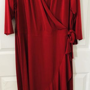 lane bryant red dress size 18/20 in excellent condition (pick up only) for Sale in Alexandria, VA