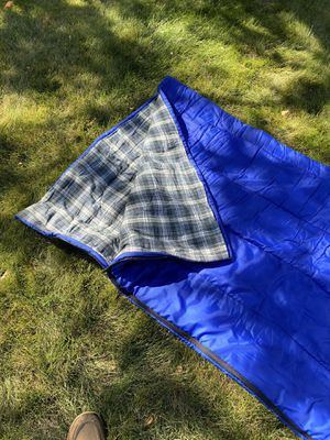 Sleeping Bag. (LL Bean) Green Plaid for Sale in Highlands Ranch, CO