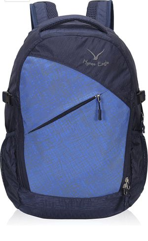 Outdoor Daypack 25L with Water Bladder Exit, Laptop Backpack Fits 13.3 Inch Hiking Backpack Overnight Bag (Dark Blue) for Sale in Pomona, CA