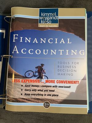 Financial accounting - kimmel for Sale in Costa Mesa, CA