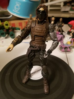 Captain America Marvel Legends Winter Soldier Figure 6 Inches for Sale in Las Vegas, NV