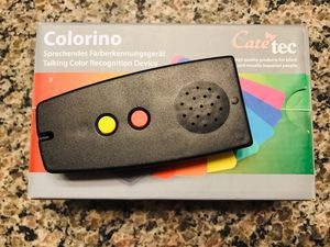 Colorino Talking Color Recognition Device for visually impaired by Caretec for Sale in Glendale, AZ