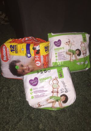 3 pack of Diapers for Sale in Houston, TX