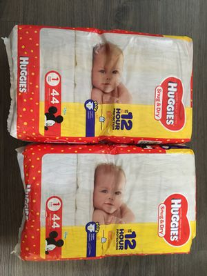 Huggies diapers for Sale in Houston, TX