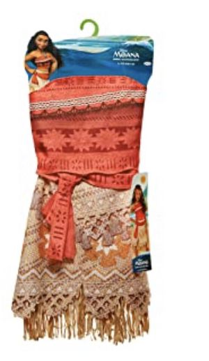 Girls Moana costume size ages 4-6 for Sale in Dallas, TX
