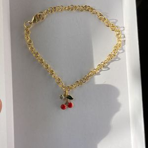 Cherry Rhinestone Anklet for Sale in Colton, CA