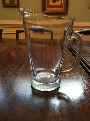 Extremely Thick and Sturdy Glass Pitcher for Sale in Atlanta, GA