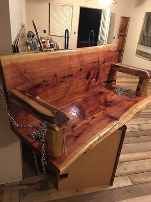 Cedar porch swing for Sale in Pickens, SC