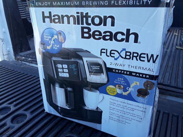 Hamilton beach 2 way flexbrew