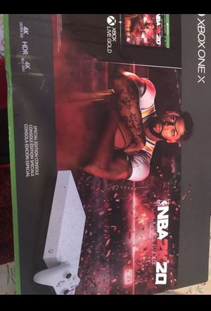 Xbox one x special edition comes with original box, and special edition controller for Sale in Nashville, TN