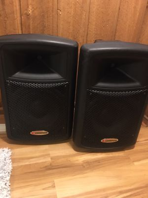 Dj, Speakers, audio mixer and wireless microphones for Sale in Hoffman Estates, IL