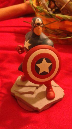 Disney infinity figure: Captain america for Sale in Orlando, FL
