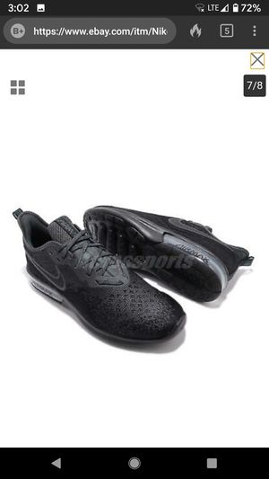 Nike Air Max Sequent 4 IV Black Anthracite Men Running Shoes Sneakers for Sale in San Jose, CA