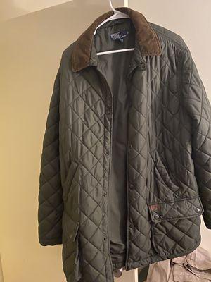 Large green Ralph Lauren jacket for Sale in Lynn, MA