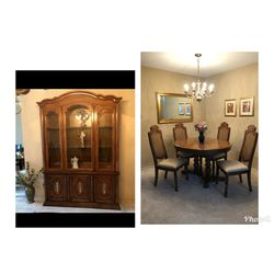 Gorgeous dining room set. Like new perfect condition. Must go ASAP. Moving. for Sale in St. Louis,  MO