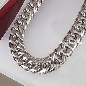 "20mm stainless steel 28"" necklace for Sale in Appleton, WI"
