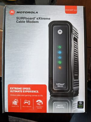 Motorola Surfboard extreme Cable Modem for Sale in Portland, OR
