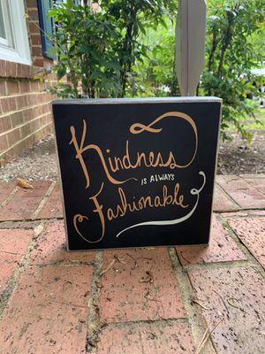 Desk Box Sign for Sale in Atlanta, GA