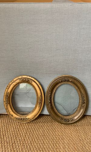 Antique oval frames with glass for Sale in Seattle, WA
