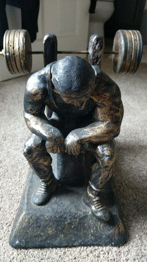 Weight lifting sculptor for Sale in Wayland, MA