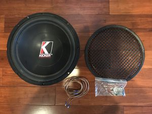 "12"" Kicker Subwoofer for Sale in St. Louis, MO"
