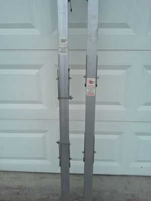 2 Pack Secure Door Braces. RATED for High Belicity Hurricane Zones. Fits up to 8ft garage door. Can order extenders for taller garage. for Sale in Riverview, FL