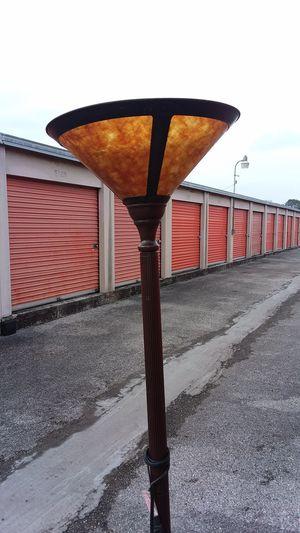 Torchiere floor lamp bronze for Sale in Austin, TX