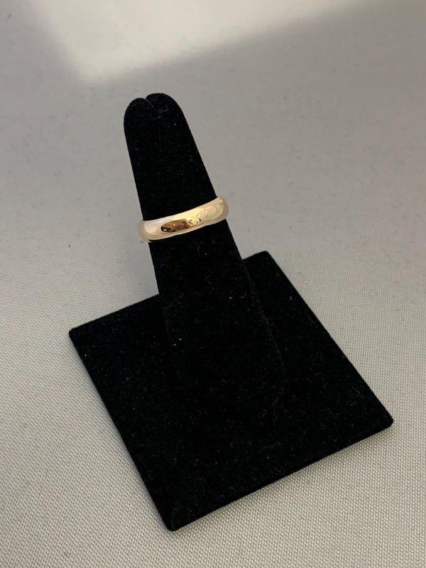 14K Wedding Band Ring