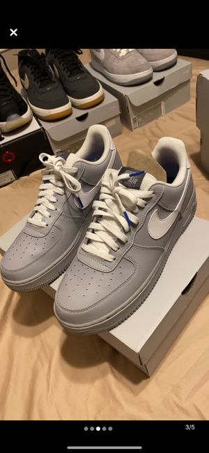 Air force 1 Grey Leather for Sale in Wood Dale, IL