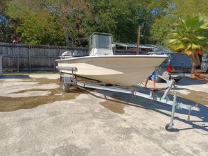 Bay boat. 18. 1998 mercury for Sale in Spring, TX
