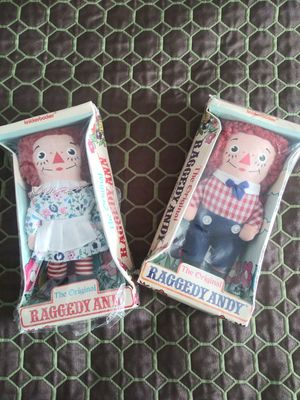 Authentic an original Raggedy Ann & Andy both for $25 for Sale in San Leandro, CA
