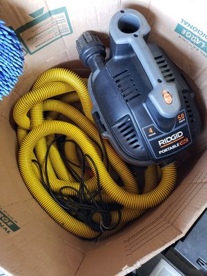 Rigid shop vac 4gallon for Sale in Santa Ana, CA